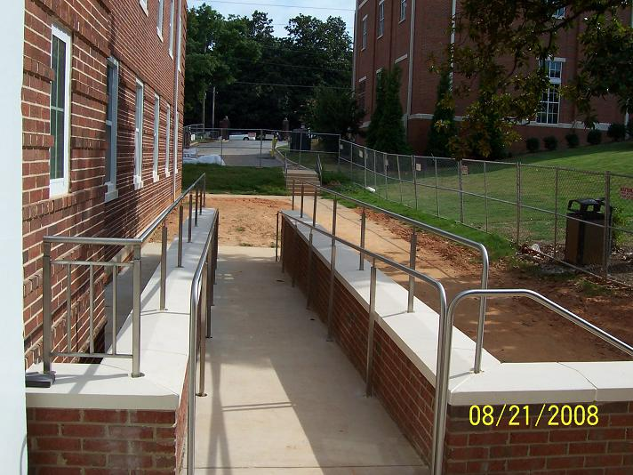 Stainless Hand Rail Atlanta